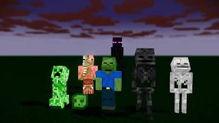 Monster School : EPIC RIP ICE SCREAM LOVE CHALLENGE - Minecraft Animation