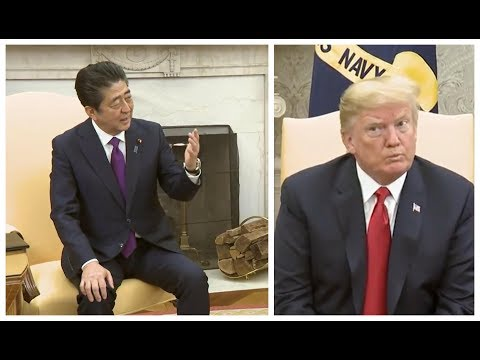 Japanese Prime Minister Shinzo Abe SHOCKS President Donald Trump at meeting in the Oval Office