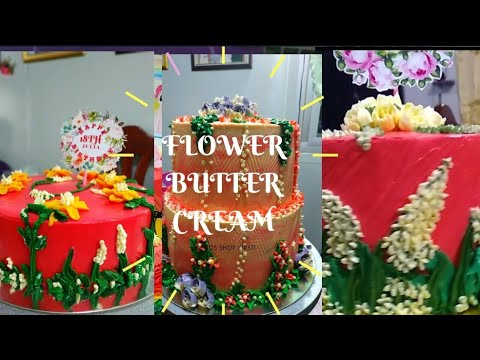 FLOWER BUTTERCREAM CAKE COMPILATION | FLORAL DESIGNS from YouTube · Duration:  11 minutes 25 seconds