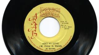 Download Al Brown: Ain't No Love (Discomix) MP3 song and Music Video