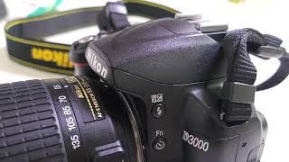 니콘 D3000 외관확인용