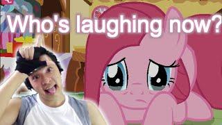 Pinkie pie Cries!!  | Pink Tac Toe