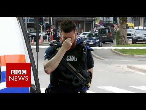 Three killed in Belgium shooting - BBC News