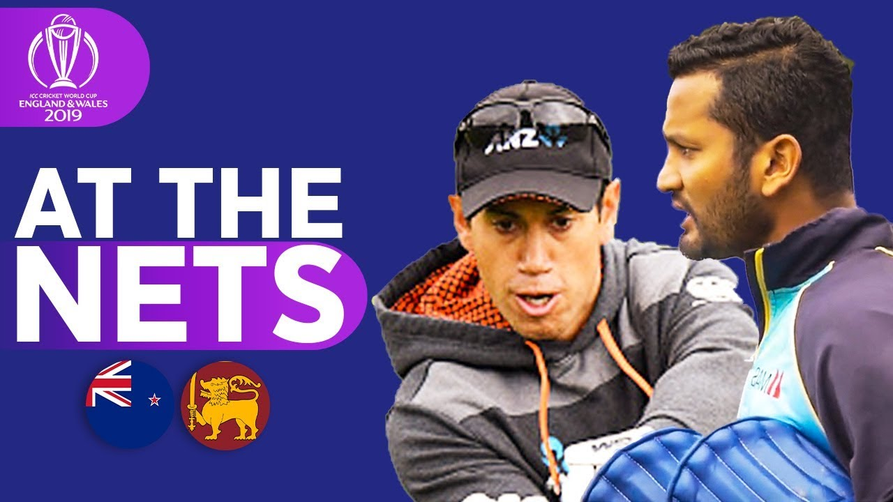 NZ v SL - At The Nets | ICC Cricket World Cup 2019