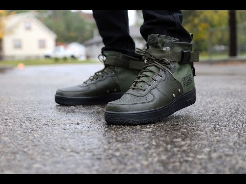 Unboxing + Review: Nike SF Air Force 1 Mid 'Sequoia'
