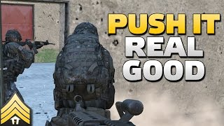 Push it real good - Arma 3 Outpost Assault