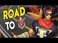 Road to GM: SHA RIN IS BACK - Sha Lin Ranked Paladins Gameplay