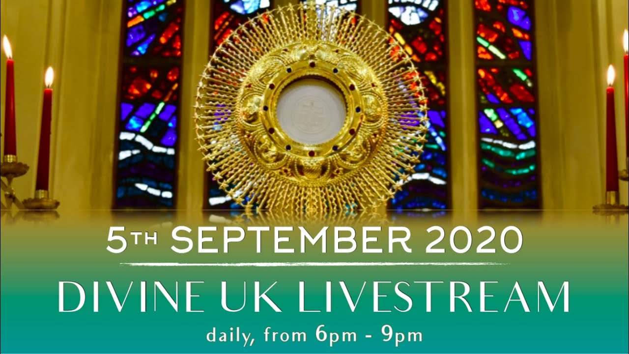 (LIVE) Gospel Preaching, Holy Mass and Eucharistic Adoration (5 Sept 2020) Divine Retreat Centre UK