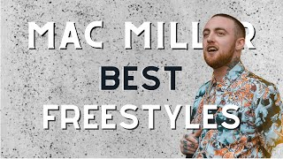 Mac Miller Freestyle Compilation (Best Freestyles)