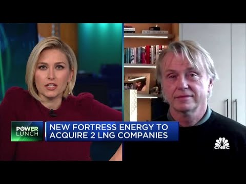 New Fortress Energy CEO on $5 billion acquisition