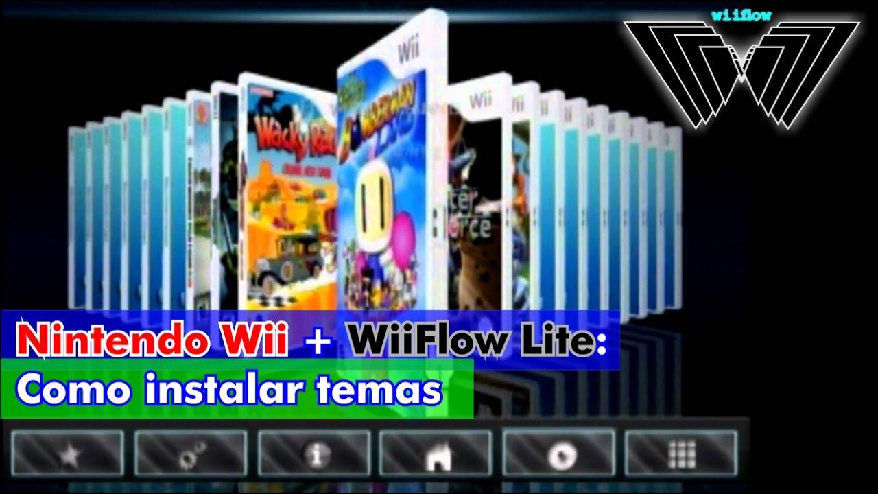 Nintendo Wii + WiiFlow Lite: Como instalar temas 100% OK