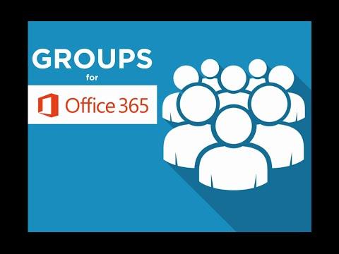Groups for Office 365 - Webinar