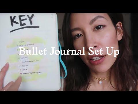 BULLET JOURNAL SET UP WALK THROUGH thumbnail