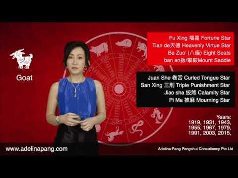 2018 Horoscope Forecast by Adelina Pang Goat