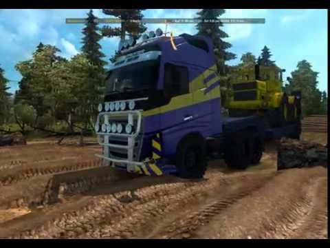 ETS 2 | Volvo FH 16 Off Road Random Extreme Russian Map R13