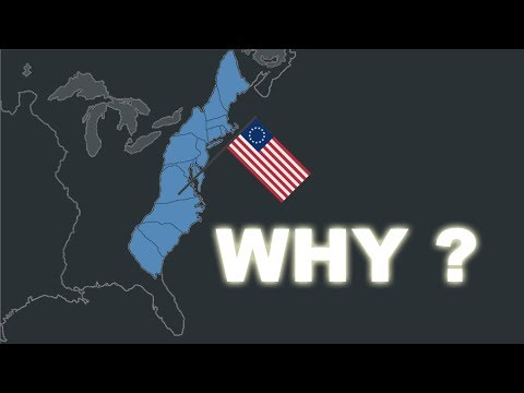 Why THE AMERICAN INDEPENDENCE WAR happened ? - Main reasons