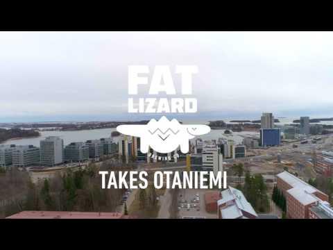 Fat Lizard takes Otaniemi