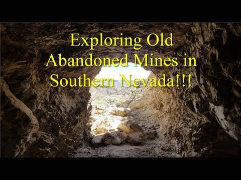 Exploring Old Abandoned Mines in Southern Nevada