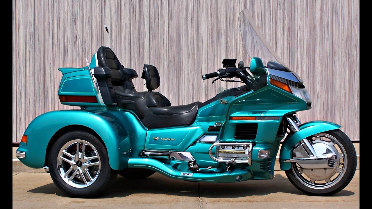 SOLD 1994 Honda Gold Wing SE GL1500SE with CSC Cobra XL