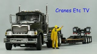 WSI Mack Granite + Rogers Trailer by Cranes Etc TV