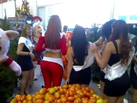 Edecan Express Fruit en Distribuidora el Florido Las Palmas
