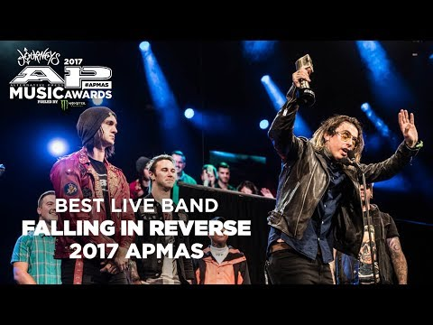 APMAs 2017 Best Live Band: FALLING IN REVERSE