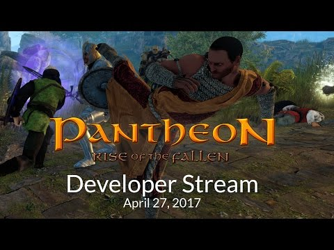 Pantheon: Rise of the Fallen Early Monk Gameplay Stream w/ CohhCarnage Pt. 1