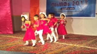 Zayan & Niha child dance in KRIA Sangamam 2013