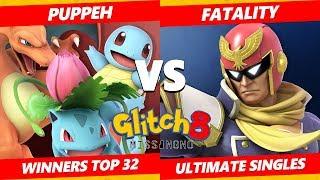 Glitch 8 SSBU - Puppeh (Pokemon Trainer) Vs. Fatality (Captain Falcon) Smash Ultimate Winners Top 32