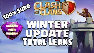 Clash of Clans Christmas|Winter Update 2017| New Troop|New Defence and Many More!