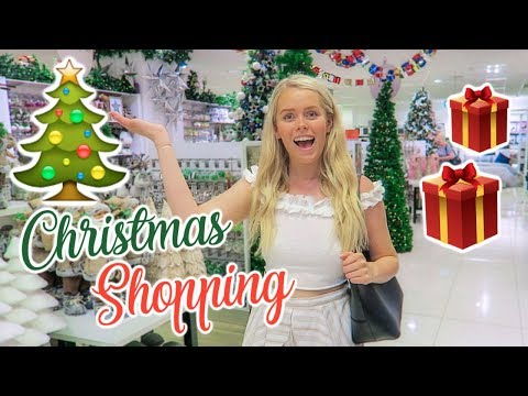 Come Christmas Shopping With Me! Gift Ideas 2018 🎁