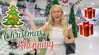 Come Christmas Shopping With Me! Gift Ideas 2018
