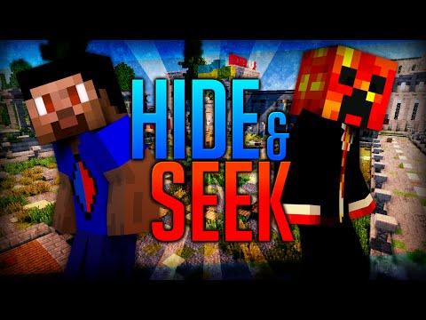 Minecraft HIDE AND SEEK #5 with Vikkstar & Preston (Minecraft Mini-Game)