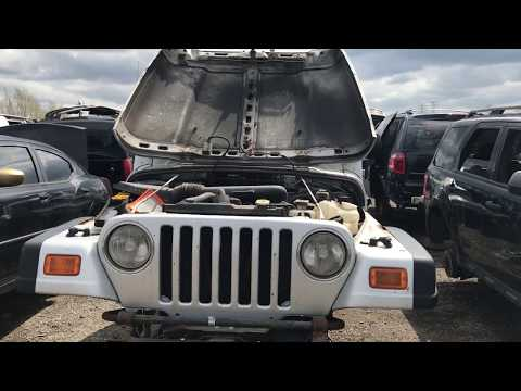 This Jeep does NOT belong in the Junk Yard