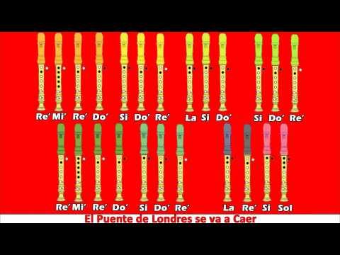 Titanic en Flauta Notas Explicadas en Flauta Dulce Con Notas