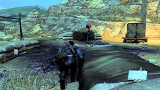 4K 60fps - Metal Gear Solid V - The Phantom Pain - Shadowplay Test