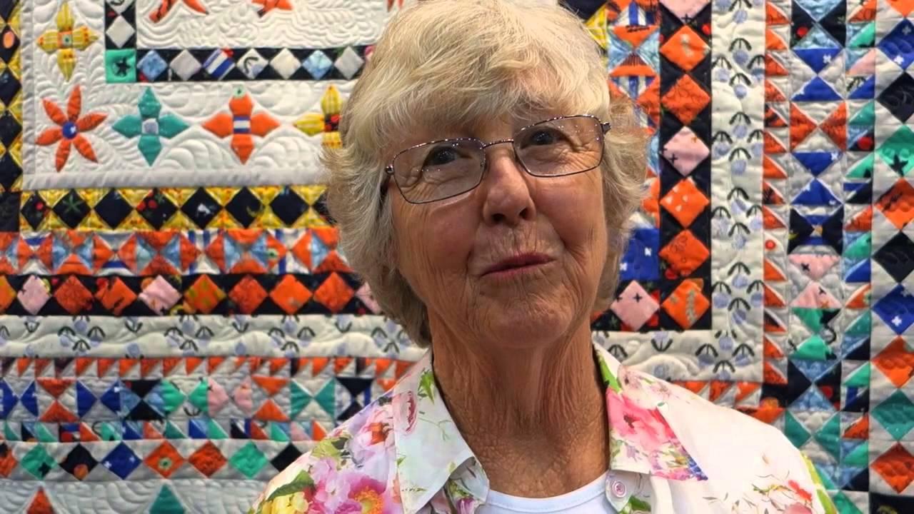 The Quilt Show Bom 2016 Designer Lessa Siegele Youtube