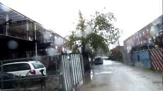 Hurricane Sandy in Canarsie, Brooklyn