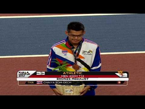 9th ASEAN Para Games - Para Athletics Day 2