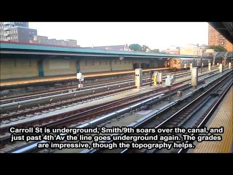 Subway Tour: Culver Line Part I