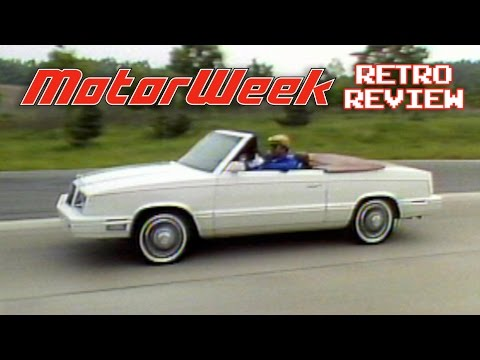 Retro Review 1982 Chrysler Lebaron Convertible