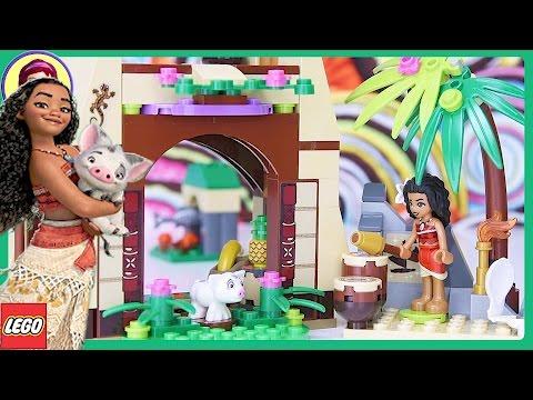 Lego Disney Moanas Island Adventure Build Princess Review Silly
