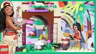 LEGO Disney Moana's Island Adventure Build Princess Review Silly Play - Kids Toys