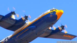 2013 NAF El Centro Air Show - Blue Angels C-130 FAT ALBERT