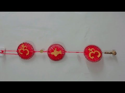 wall-hanging-craft-idea-|-wall-hanging-using-old-bangles-|-old-bangles-reuse-ideas|-home-decoration