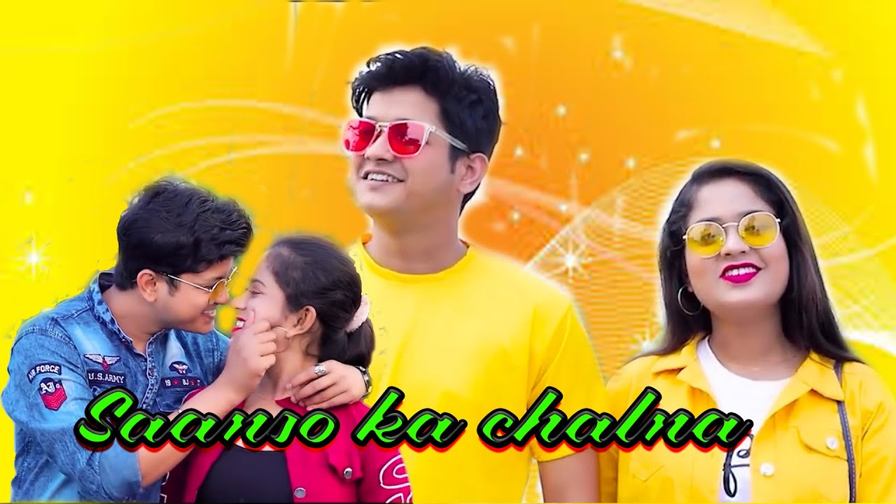 Saanson Ka Chalna Tham Sa Gaya | Bewafa Pyar | Heart Touching Love story | Vivek & Tiya | Flyingbird
