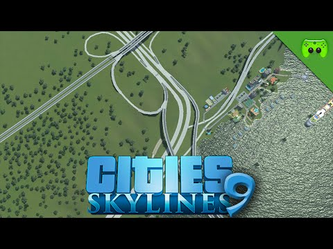 CITIES SKYLINES # 9 - Stadtautobahn «» Let's Play Cities Skylines | HD60