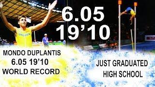 Mondo Duplantis 6.05 m World Record | Team Hoot Pole Vault