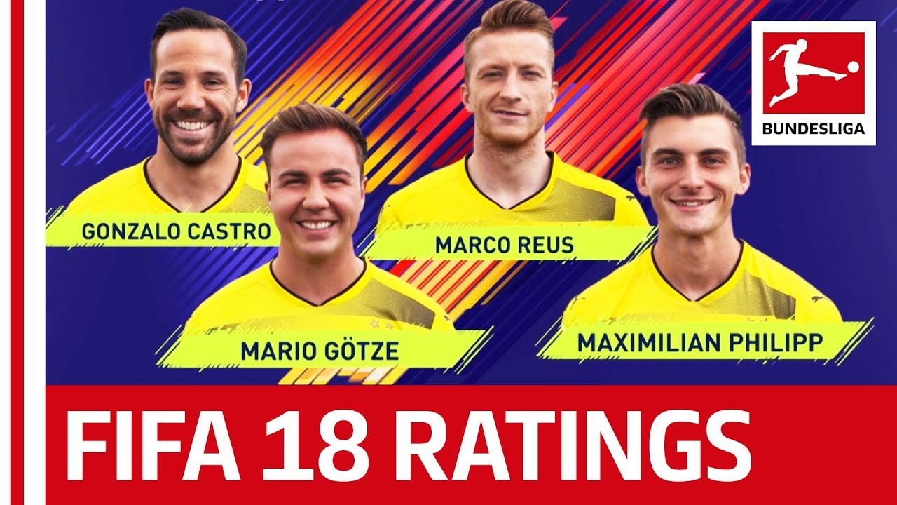 EA SPORTS FIFA 18 Borussia Dortmund Players Rate Each Other Reus