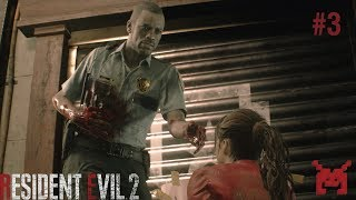 Let's Play Resident Evil 2 (PS4) Claire #3: Police Station East Wing